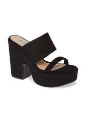 Steve Madden Elevate Platform Slide Sandal (Women)
