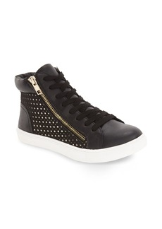 Steve Madden 'Elyka' Laser Cut High Top Sneaker (Women)