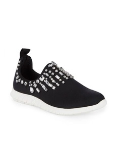 Steve Madden Embellished Slip-On Sneakers