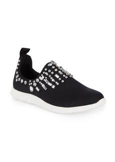 Steve Madden Embellished Slip-On Sneakers
