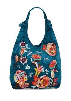 Steve Madden Embroidered Hobo Bag