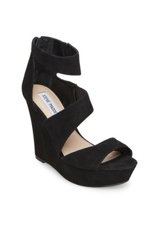 Steve Madden Essex Suede Wedge Sandals