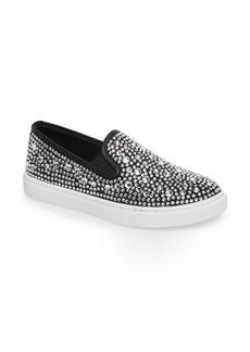 Steve Madden Evada Crystal Embellished Slip-On Sneaker (Women)