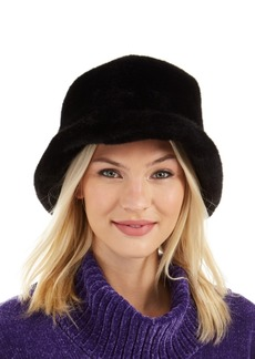 Steve Madden Faux-Fur Bucket Hat