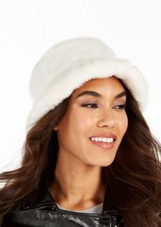 Steve Madden Faux-Fur Bucket Hat