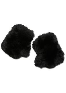 Steve Madden Faux-Fur Fingerless Mittens