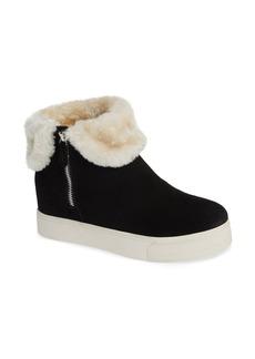 Steve Madden Faux Fur Lined Sneaker (Women)