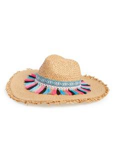 Steve Madden Festival Flair Panama Hat