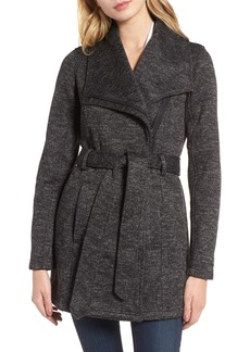 Steve Madden Fleece Wrap Coat