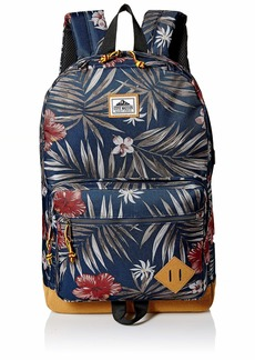 Steve Madden Floral Dome Backpack Navy