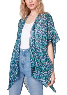 Steve Madden Floral Kimono Coverup