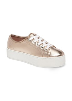 Steve Madden Foxie Metallic Platform Sneaker (Women)