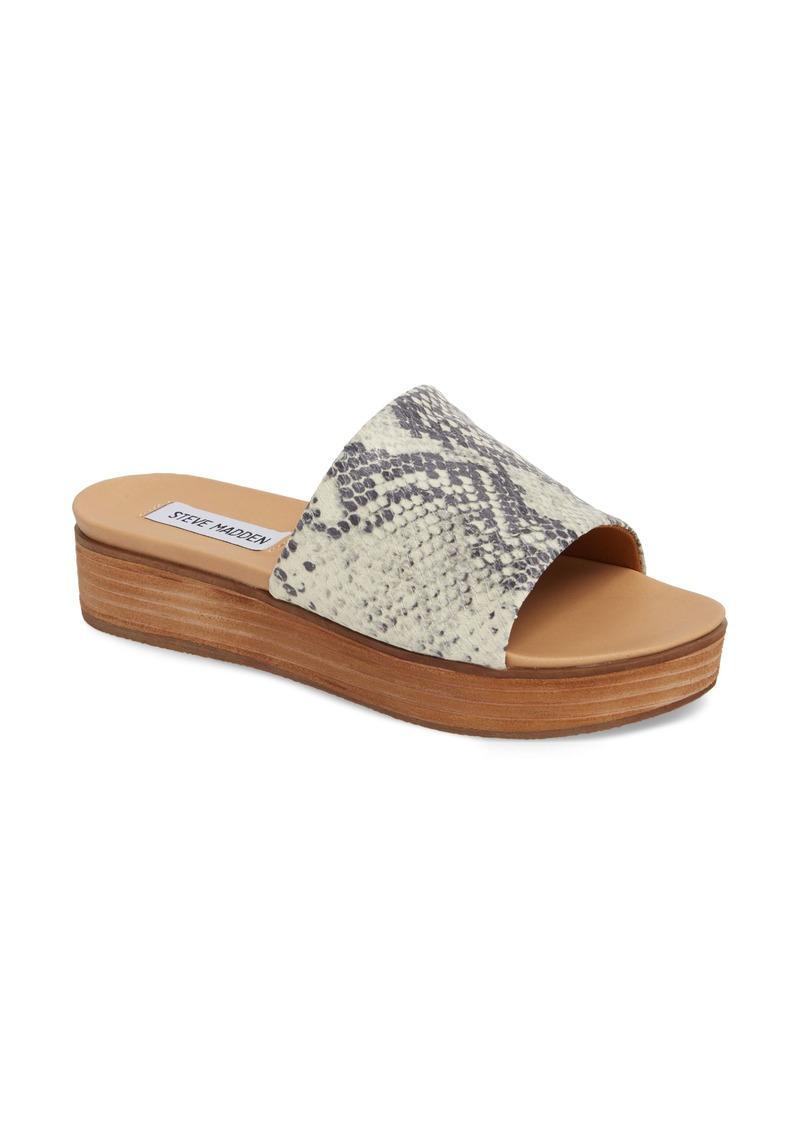 22c517af99 Steve Madden Steve Madden Genca Slide Sandal (Women) | Shoes
