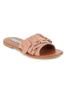 Steve Madden Getdown Suede Slide Sandals