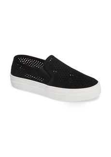 Steve Madden Gills Perforated Slip-On Sneaker (Women)