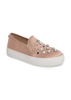 Steve Madden Glade Embellished Slip-On Sneaker (Women)