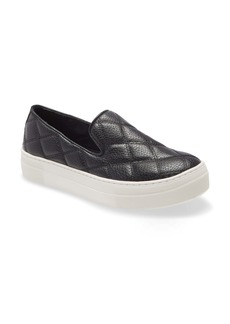 Steve Madden Globe Quilted Slip-On Sneaker (Women)
