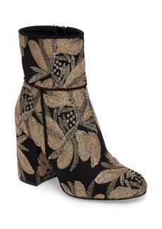 Steve Madden Goldie Sequin Embroidered Bootie (Women)