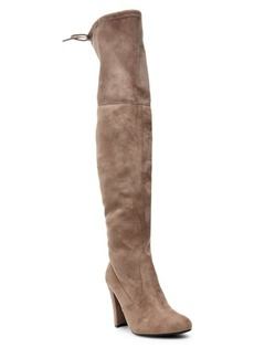 Steve Madden Faux-Suede Over-the-Knee Boots