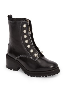 Steve Madden Granite Embellished Zip Boot (Women)