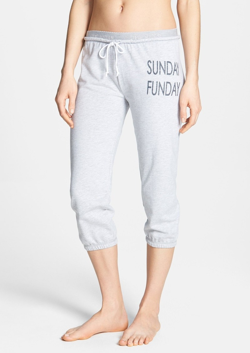 Steve Madden Graphic Lounge Capris