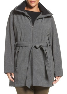 Steve Madden Hooded Parka (Plus Size)