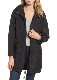 Steve Madden Hooded Water Repellent Anorak