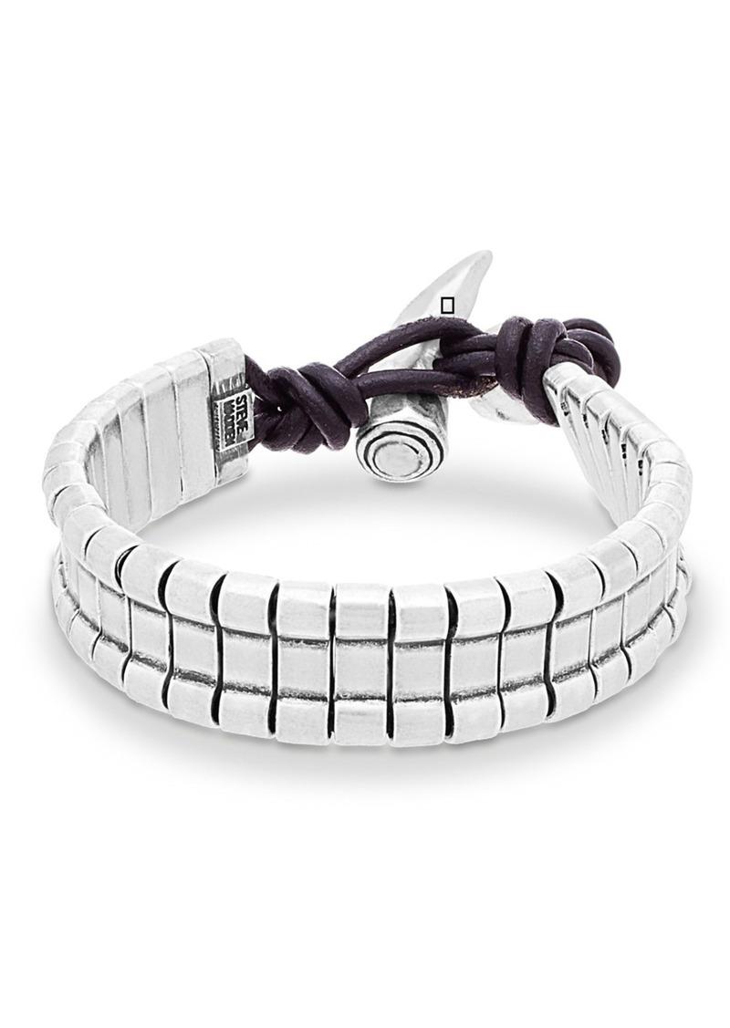 Steve Madden Horn Closure Bracelet