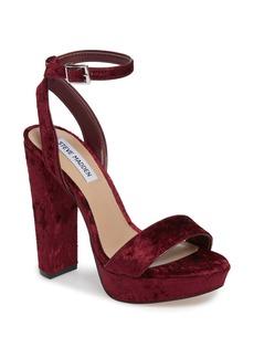 Steve Madden Insomnia Platform Ankle Strap Sandal (Women)