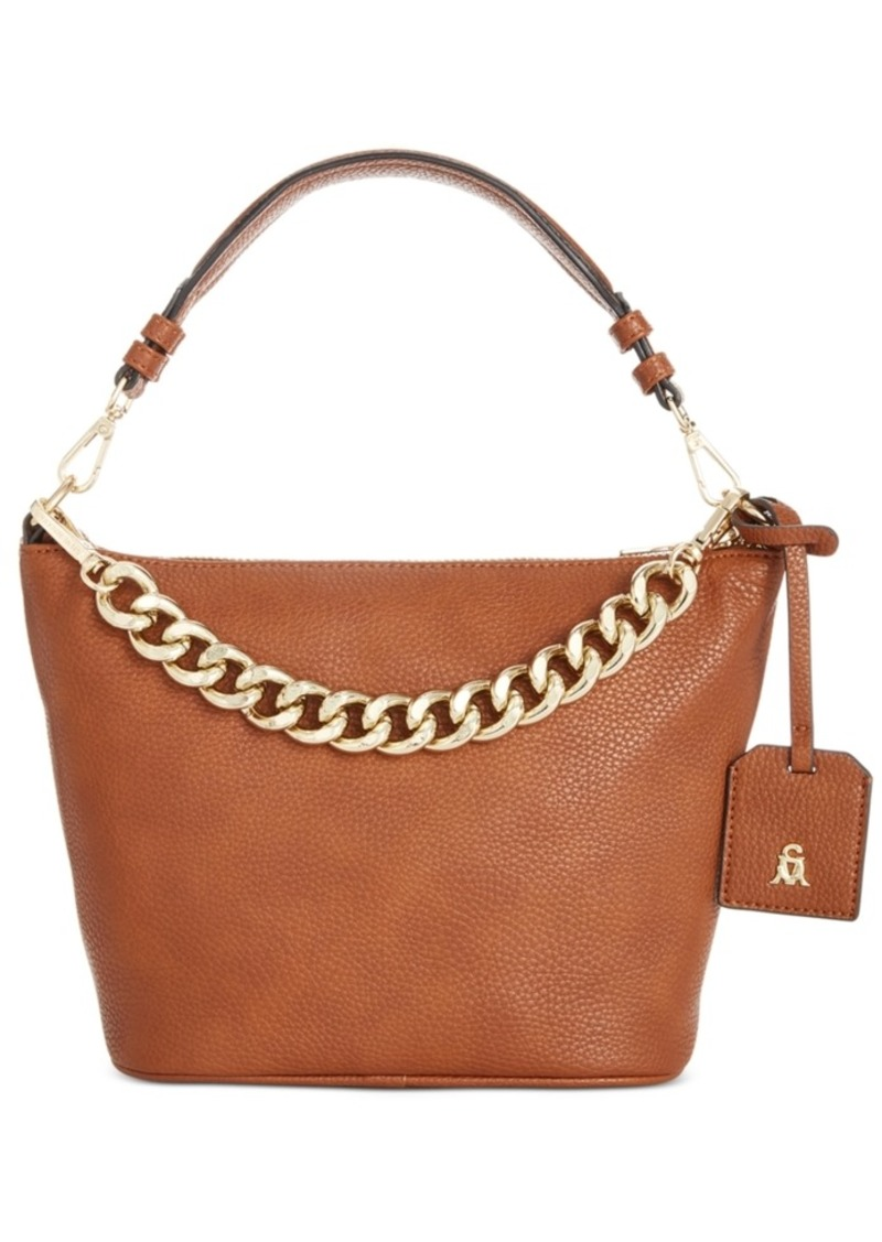 Steve Madden Ira Top Zip Chain Crossbody