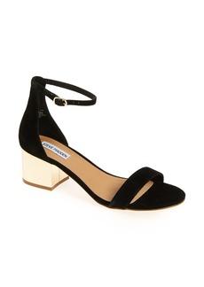 Steve Madden 'Irenee-G' Mirror Block Heel Sandal (Women)
