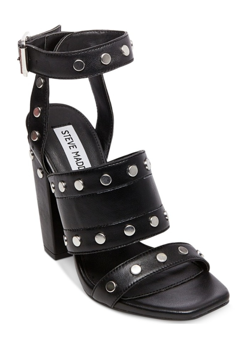 e08a3a196b6 Steve Madden Steve Madden Jansen Studded Block-Heel Sandals
