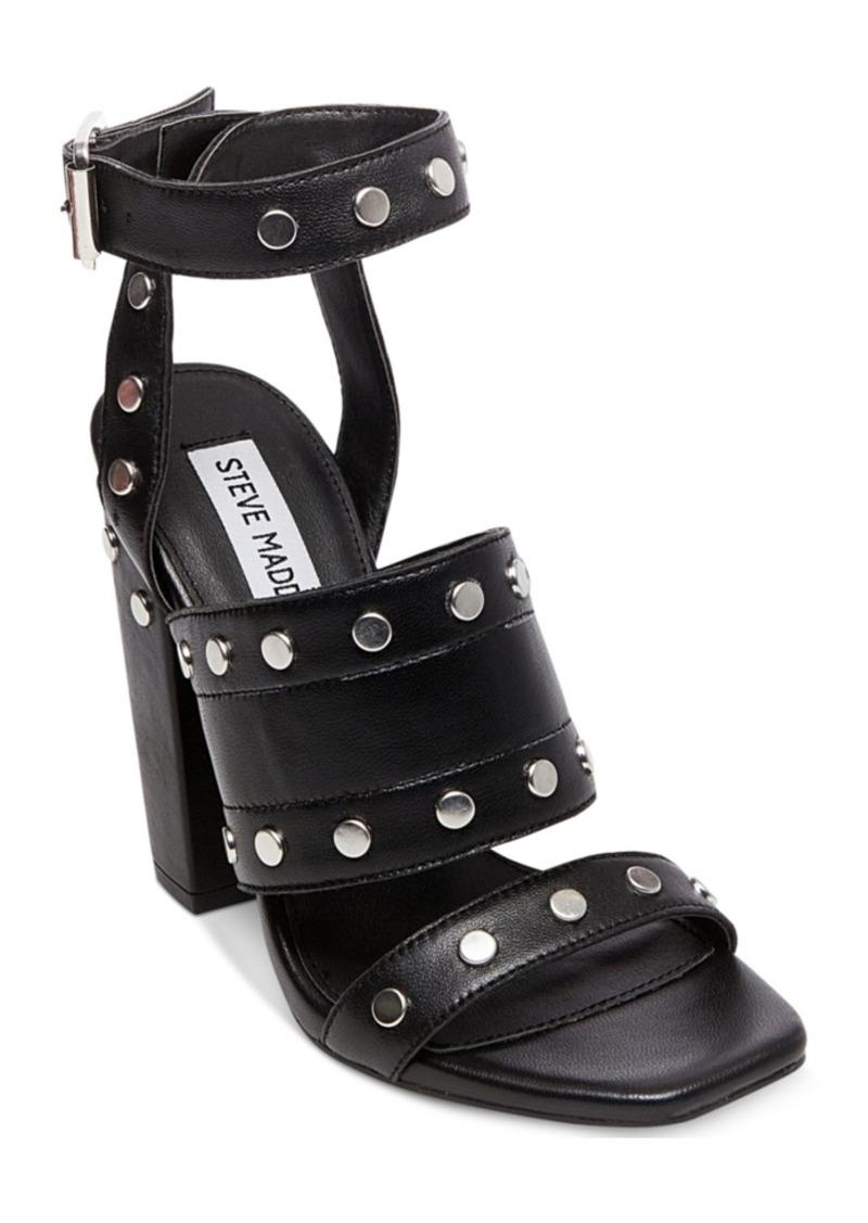 01f6c0b5b5 Steve Madden Steve Madden Jansen Studded Block-Heel Sandals | Shoes