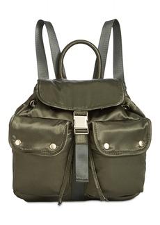 Steve Madden Jax Satin Medium Backpack