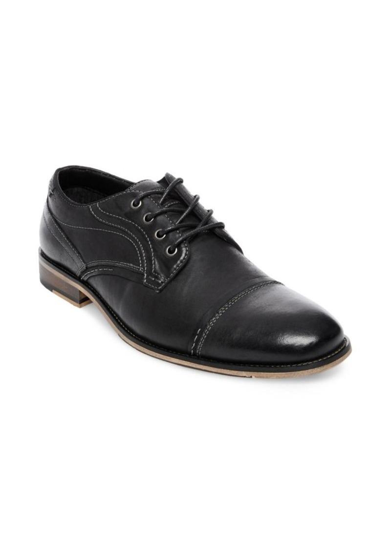f220da89dfc Steve Madden Steve Madden Jenton Leather Cap Toe Derby Shoes