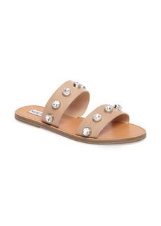 Steve Madden Jessy Embellished Slide Sandal (Women)