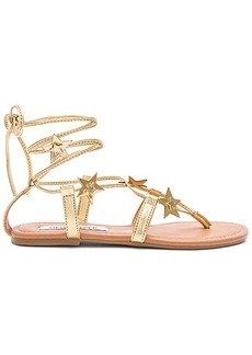 Steve Madden Jupiter Sandals in Metallic Gold. - size 7 (also in 10,8)