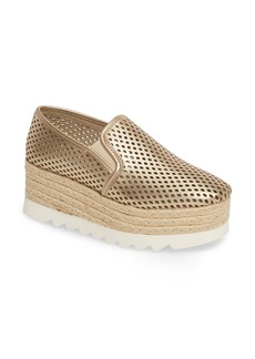 Steve Madden Kara Perforated Platform Loafer (Women)