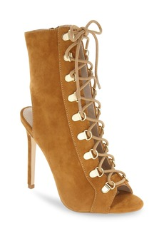 Steve Madden 'Kennee' Open Toe Bootie (Women)