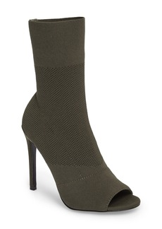 Steve Madden Kristi Peep Toe Bootie (Women)