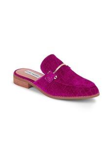 Steve Madden Laaura-V Fusch Slide Sandals