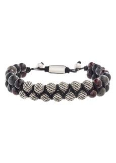 Steve Madden Labradorite Bead Bracelet