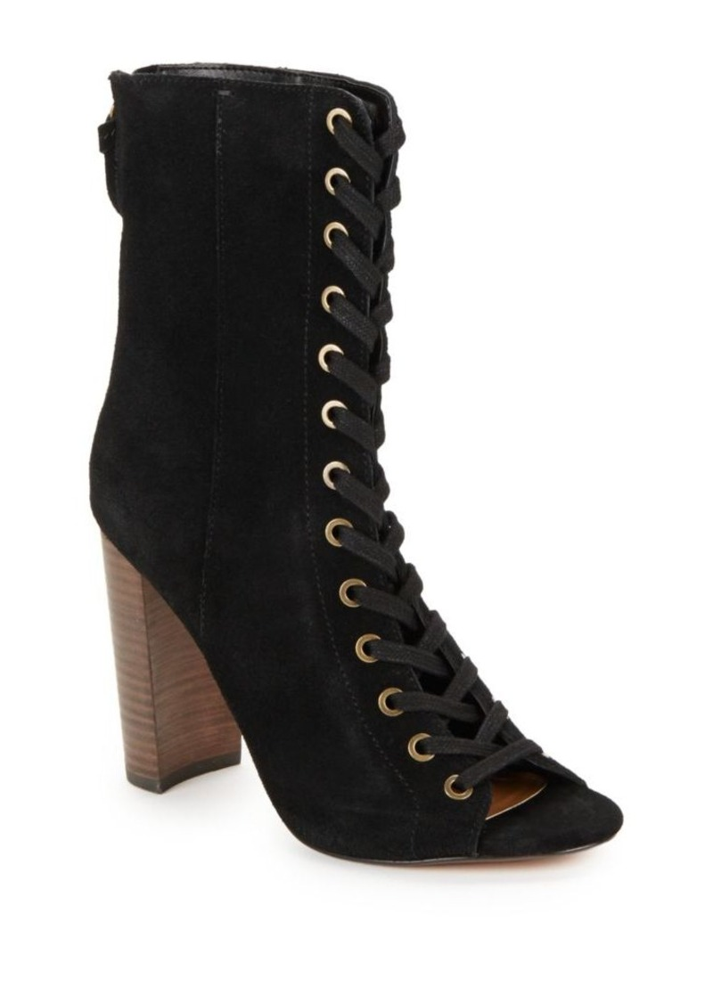 Steve Madden Freely Lace-up Leather Booties