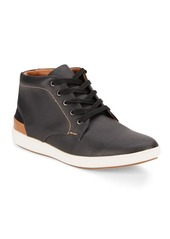 Steve Madden Lace-Up Leather Sneakers