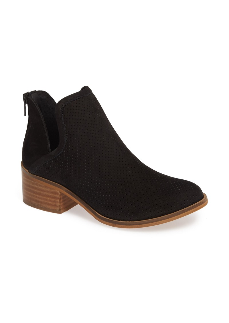 Steve Madden Lancaster Perforated Bootie (Women)