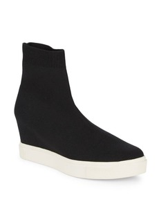 Steve Madden Laverty Slip-On Sock Sneaker Wedge