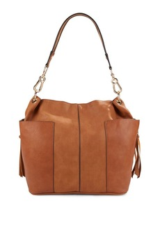 Steve Madden Leather Bucket Bag