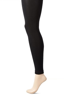 Steve Madden Legwear Women's Footless Fleece Lined Tight  /Medium
