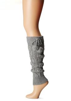 Steve Madden Legwear Women's Pompom Leg Warmer