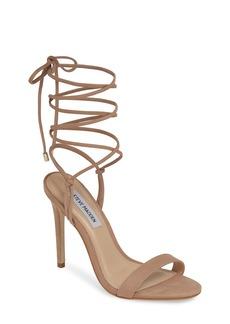 Steve Madden Level Ankle Wrap Sandal (Women)